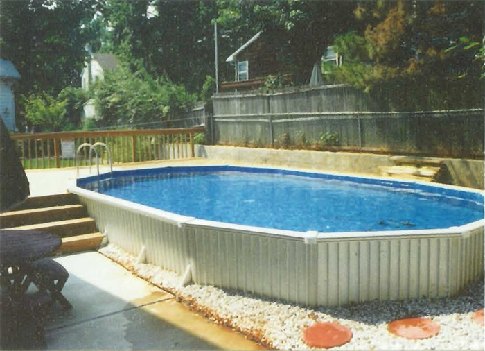 24 Above Ground Pool >> Buster Crabbe Pools - Landi Pools & Games
