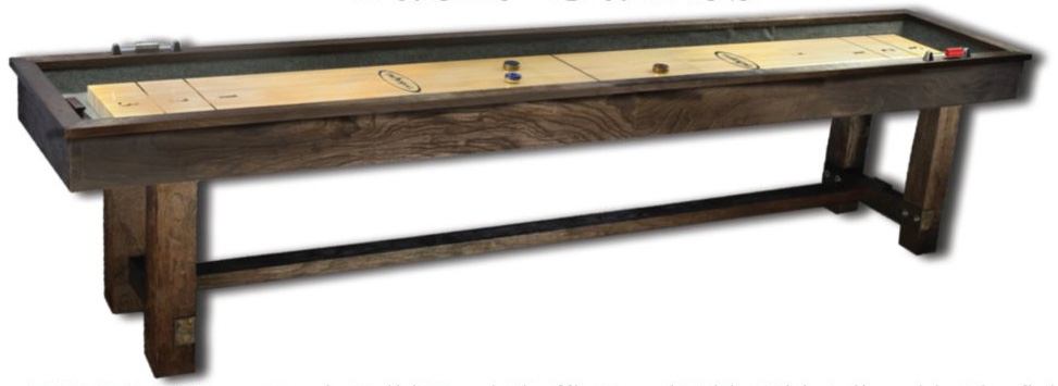 Imperial Reno Rustic 12 Ft. Shuffleboard Table