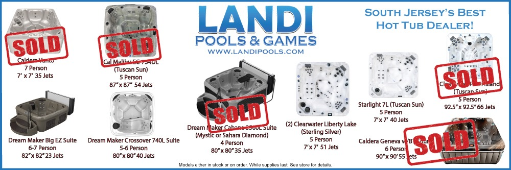 2021 Available Hot Tubs