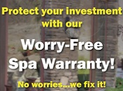 Spa Worry-Free Warranty
